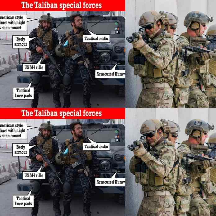 #Taliban Launch Special Forces With High Tech Equipment After Reclaiming #Afghanistan [PHOTOS]