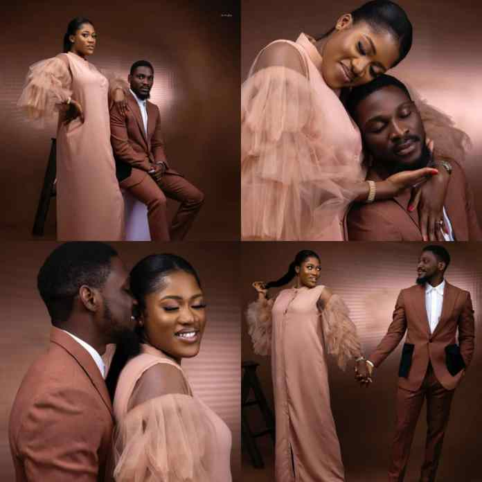PRE-WEDDING SHOOT: Ex-#BBNaija Star, Tobi Bakare Gushes Over His Bride-To-Be