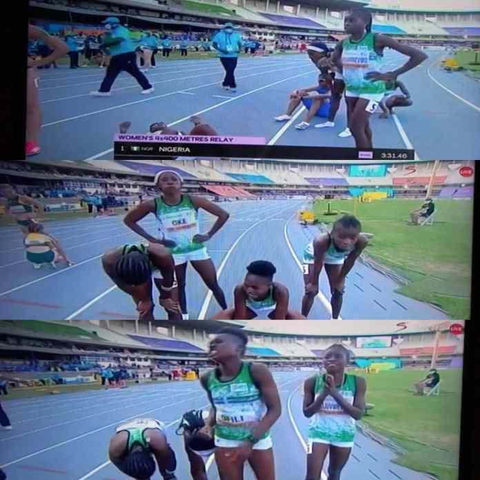 BREAKING: Nigeria Wins Women 4x400m Relay Gold At World U-20 Athletics Championship [VIDEO]