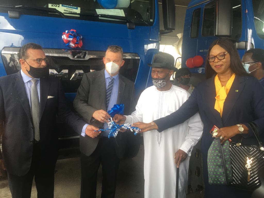 Heritage Bank, Others Bankroll SCOA Handover Of Trucks, Equipment To Julius  Berger Worth N15.5bn