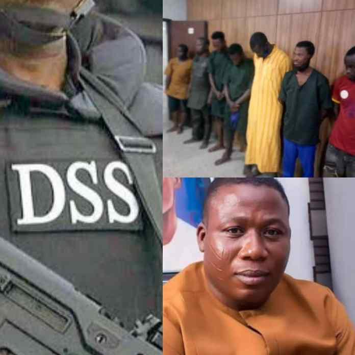 BREAKING: Drama As Armed Robbers Steal DSS Case File Of Sunday Igboho Aides