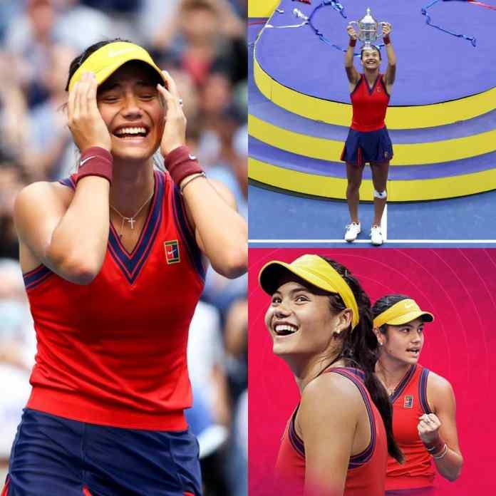 BREAKING: #EmmaRaducanu Equals Serena Williams Record To Win 1st #USOpen