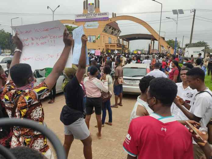UNiben's Inordinate Circle Of Fees And Harvests Of Protest