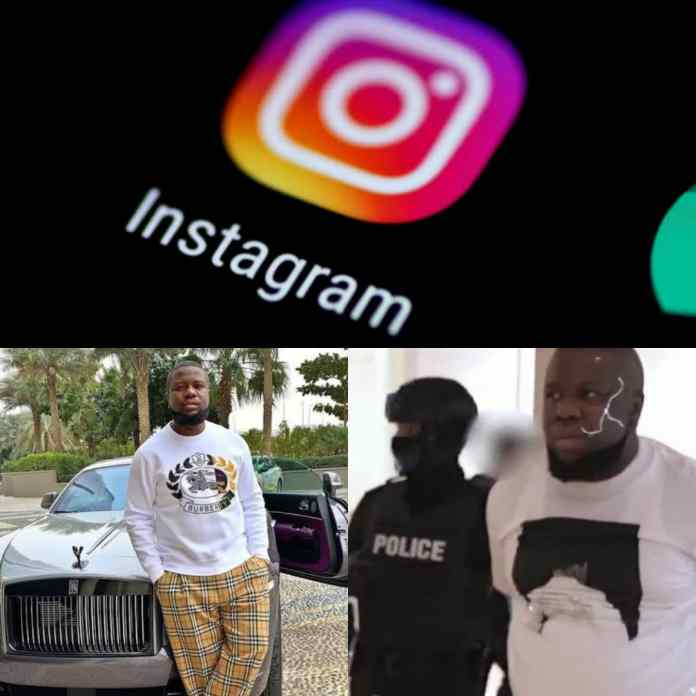 Instagram Says International Fraudster #Hushpuppi Can Continue Using His Account