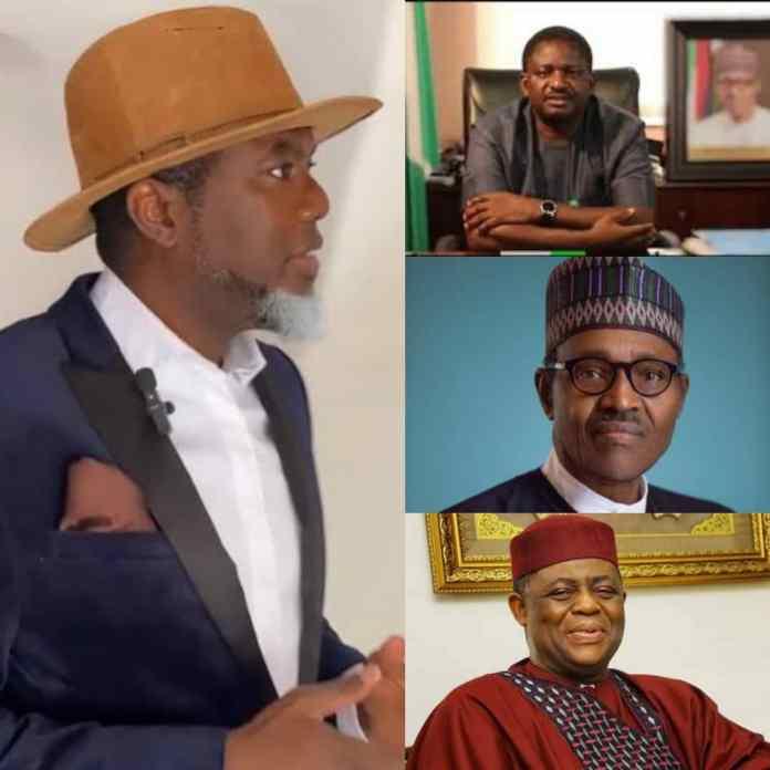 BREAKING: Fani-Kayode Reportedly Set To Replace Femi Adesina As Buhari's Spokesman