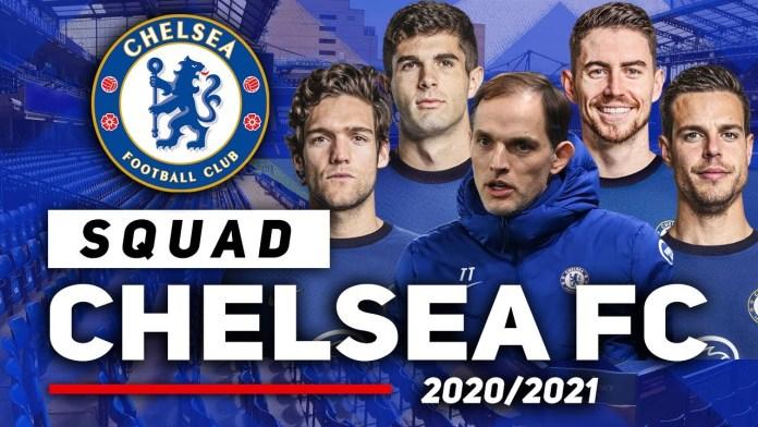 See Chelsea Squad For 2021/22 #EPL Season Confirmed By Thomas Tuchel