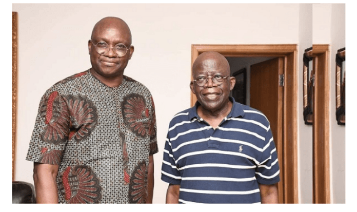 DEFECTION!!! What Fayose Said After Visiting Bola Tinubu In Bourdillon