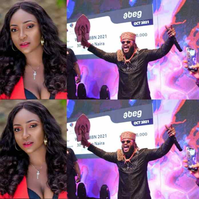 Relationship Expert, Blessing CEO Tackle Organizers As WhiteMoney Wins #BBNaija N90M