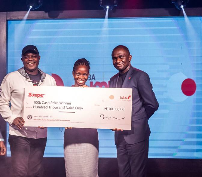 PHOTOS: Winners Emerge In 7th UBA Bumper Savings Account Promo