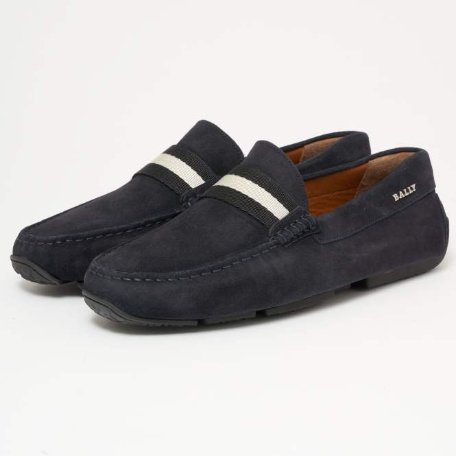 Bally Pearce Suede Driving Shoes