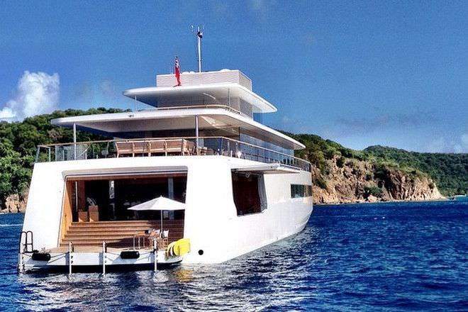 A Look At The 256 Ft Superyacht Built For Steve Jobs
