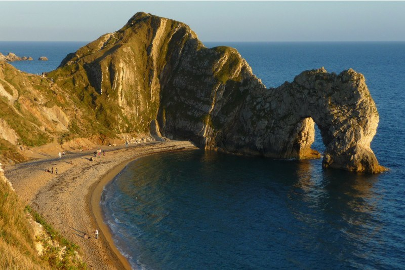 Durdle_Door_Sunset