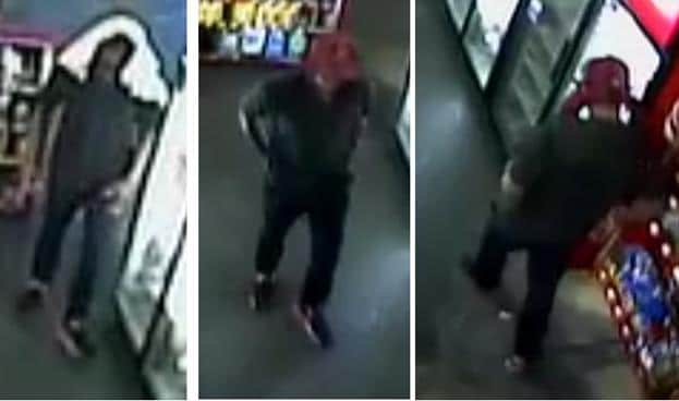 Man robs convenience store after clerk asks for his ID while buying cigarettes