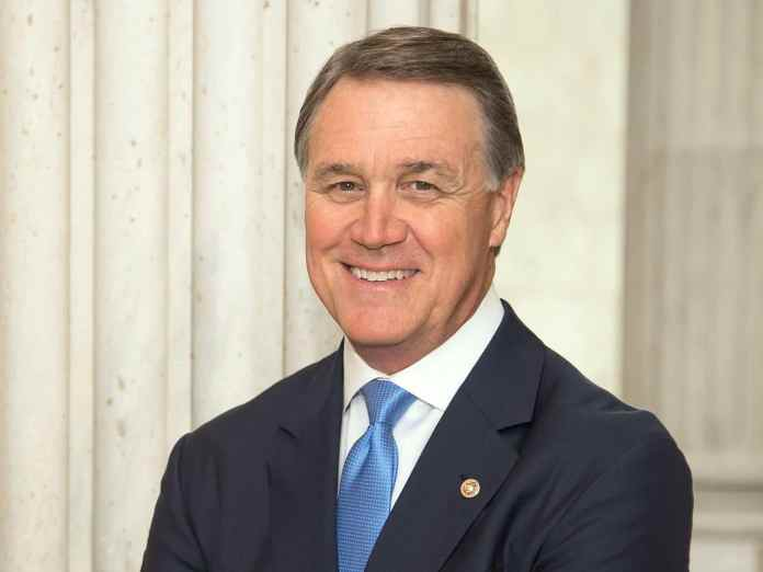 Georgia Senator David Perdue was in China this week talking trade with Chinese officials
