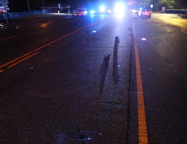 70-year-old motorcycle driver killed in early morning crash