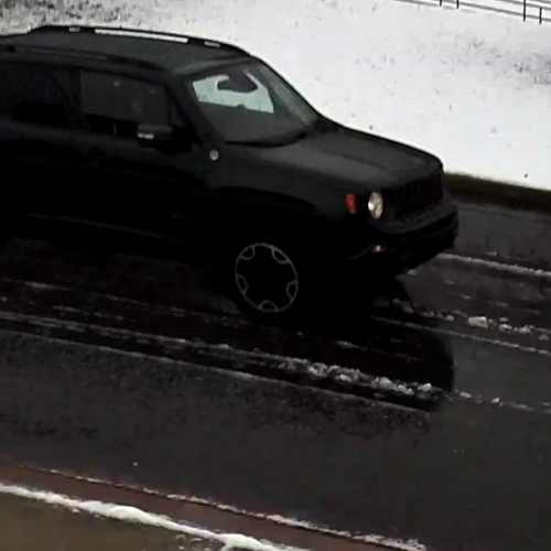 Police search for black Jeep that damaged property near Northwestern Middle School in Milton