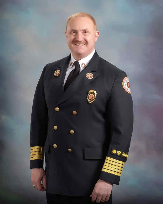 Long-time Griffin Fire Chief to hang up his boots