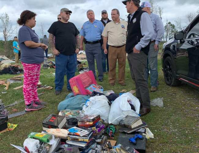 Georgia Gov. Brian Kemp declares state of emergency after Easter tornadoes