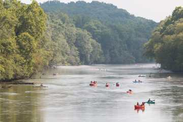 111 people rescued from Chattahoochee River during Saturday storm