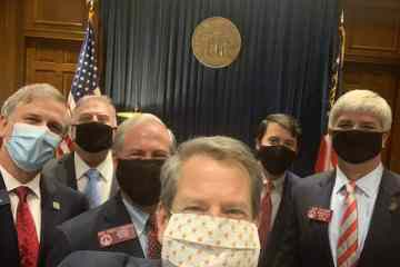 As hospitalizations rise, health care workers call on Brian Kemp to  make masks mandatory