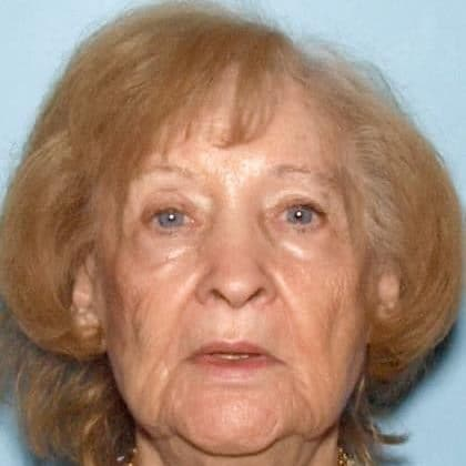 Missing 85-year-old woman found
