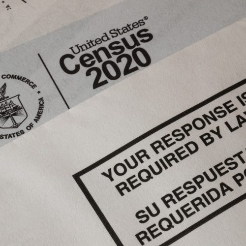 Georgia is 47th in the nation in completing the census