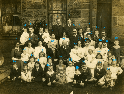 Family History Photo of Flemings and Stevensons