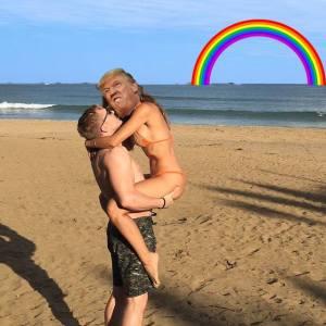 fotoğrafına photoshop isteyen çift troll