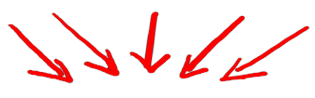 Image result for arrows pointing down png