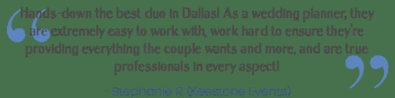 Dallas wedding band review 2