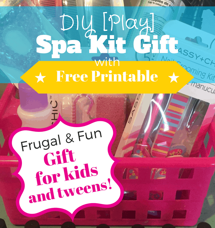Play Spa Kit: Gift for kids and tweens! ~ The Gifty Girl