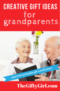 Creative Gift ideas for older parents, grandparents and ...