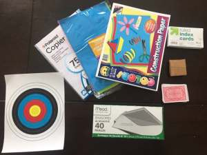 STEM Gift: STEM STEAM Family Challenge box Supplies 3