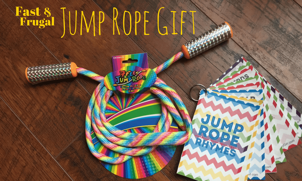 Fast and Frugal Jump Rope Gift