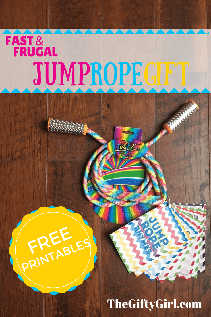 Fast & Frugal Gift Idea: Jump rope and rhymes