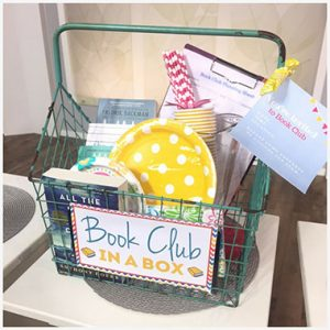gifts for mother-in-law who has everything book club gift basket