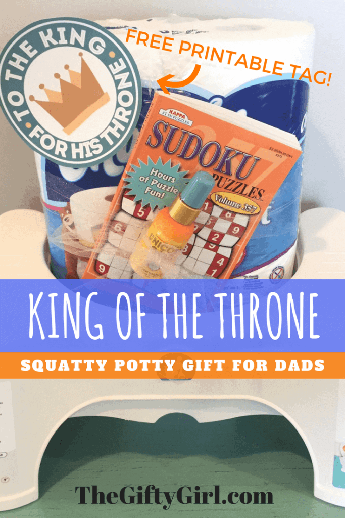 Squatty Potty Gift for dads and grandpas