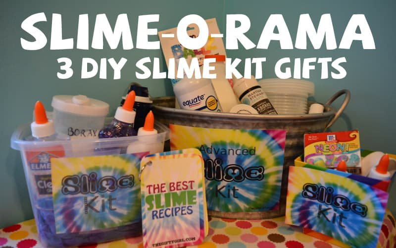 Slime o rama three of the best diy slime kits for gifts the gifty diy gifts diy little kid gifts diy teen gifts diy tween gifts family gift ideas solutioingenieria Images