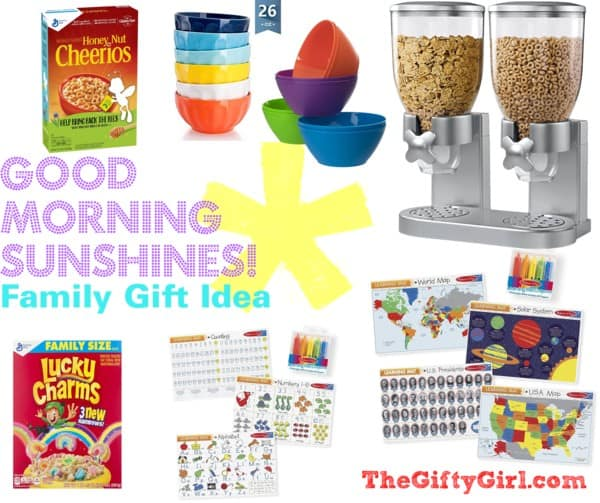 "These creative gift ideas say Good Morning Sunshine and work great as a ""something You Need"" gift ideas. #usefulgiftideas #somethingyouneed #creativegifting #thoughtfulgifting"
