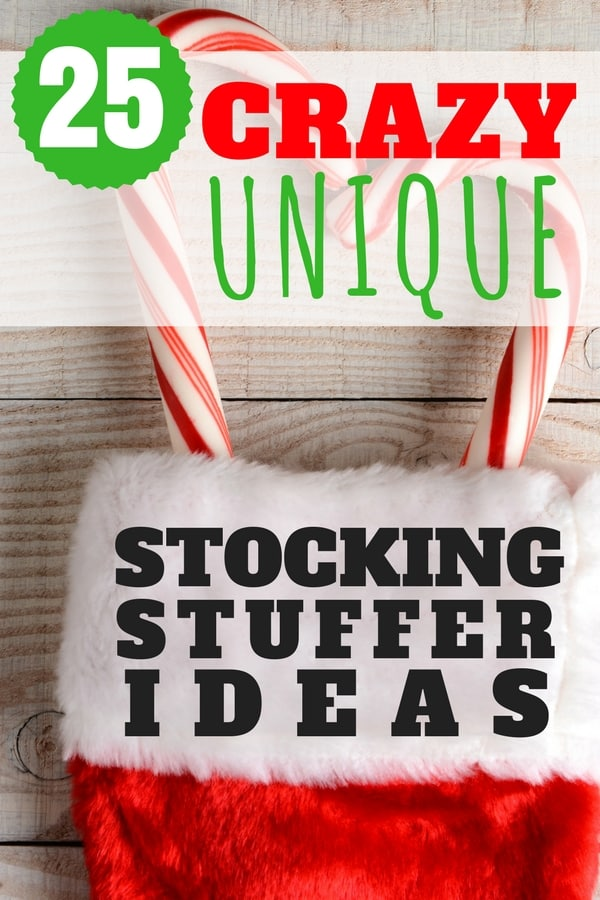 If you are looking for stocking stuffer ideas that are fun, easy to purchase and unique check out this post!
