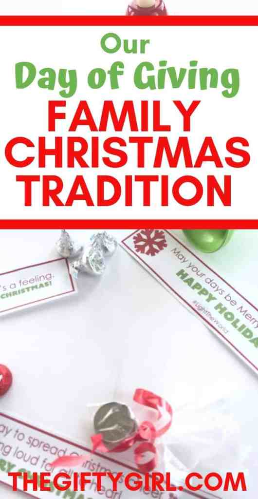 This fun and meaningful Family Christmas Tradition started when I realized my kids were focused only on what they were getting for Christmas. It is simple, fun and a great family Christmas tradition you can start in 2019. Very low prep, but a really fun holiday activity for the kids.