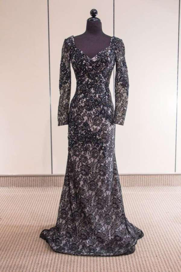 2016 Nina-113 Long Sleeve thegildedgown