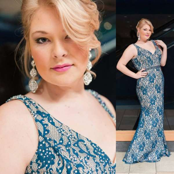 The Gilded Gown - Knoxville TN - Blue Lace Prom 2016