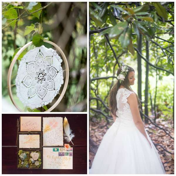 The Gilded Gown - Knoxville TN - Boho Wedding Inspo Collage 7
