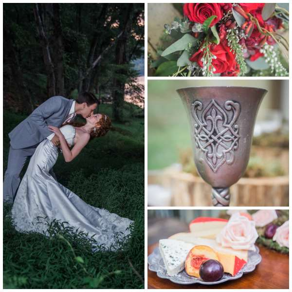 The Gilded Gown - Knoxville TN - Fairy Tale Wedding 12