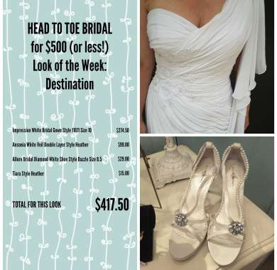 HEAD TO TO BRIDAL LOOK ONE SYNOPSIS PAGE