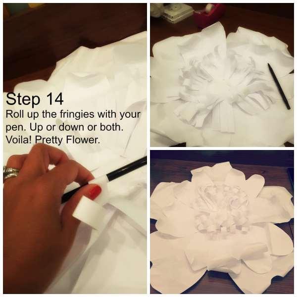 DIY Paper Flowers 8