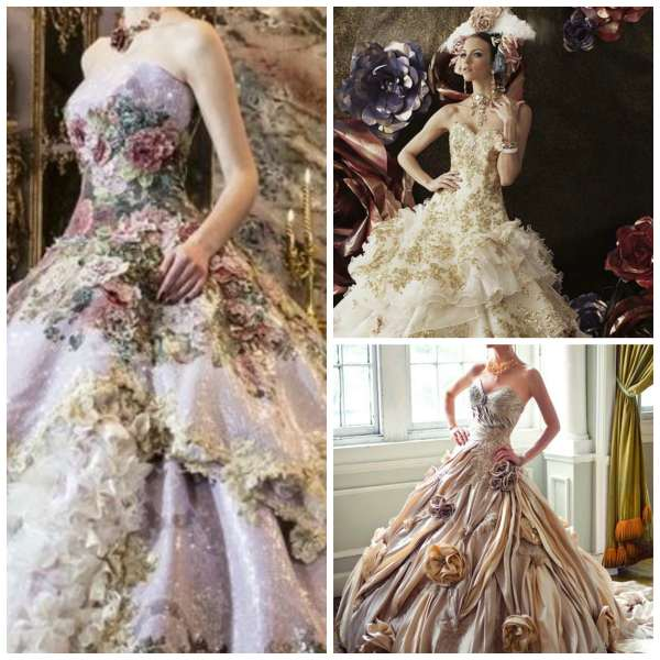 Extravagant Dress Collage 6
