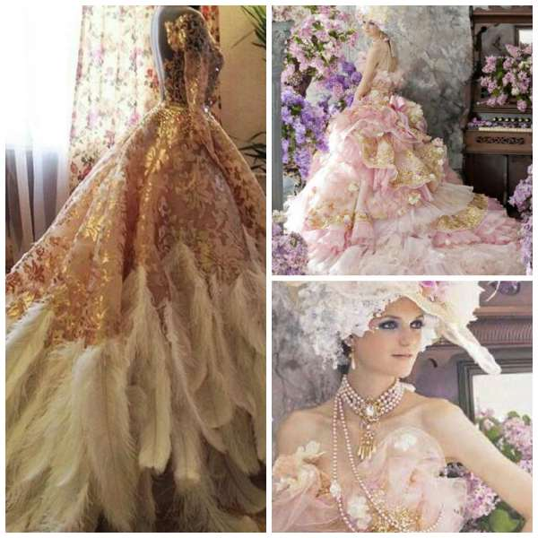 Extravagant Dress Collage 7