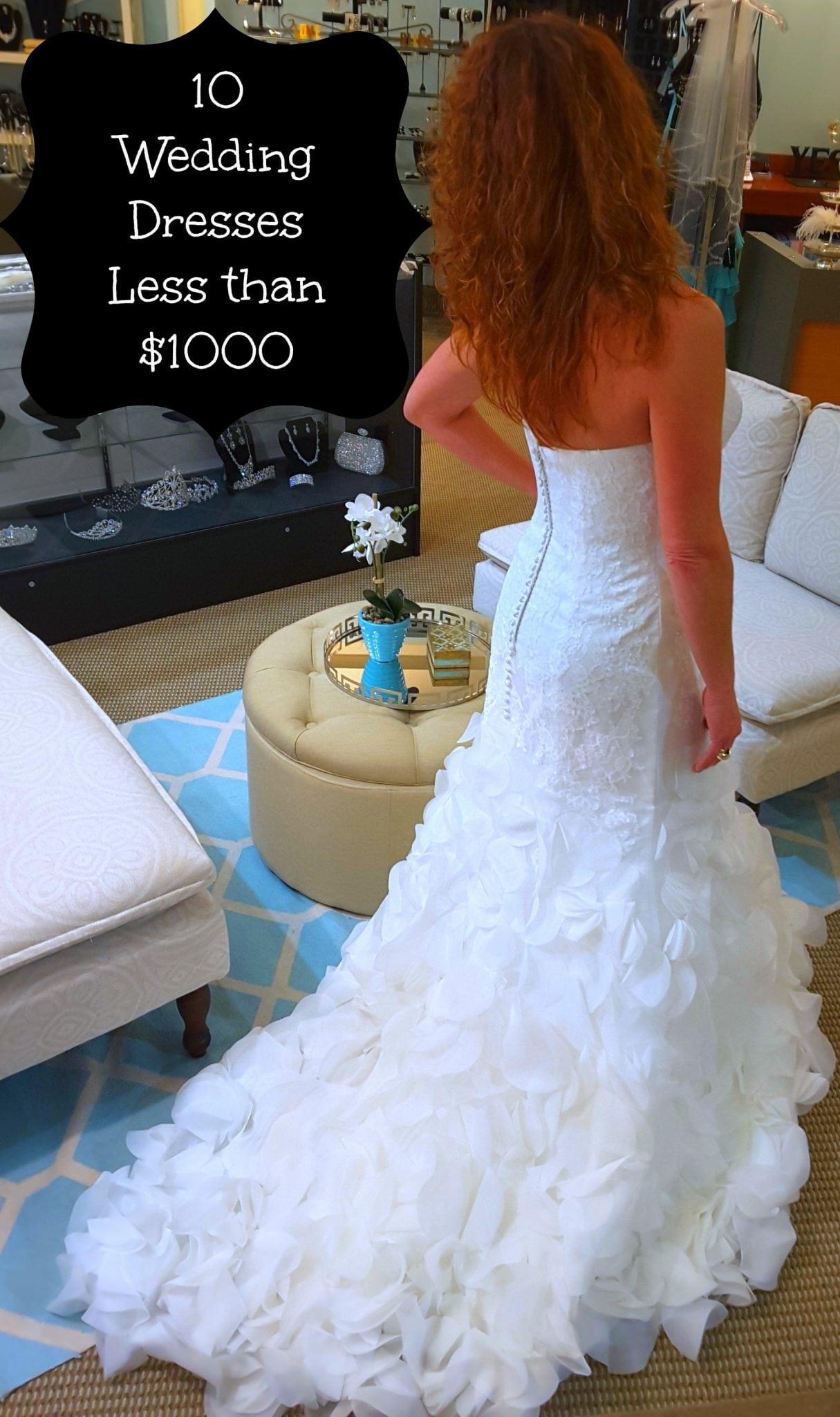 Wedding Dresses for Less